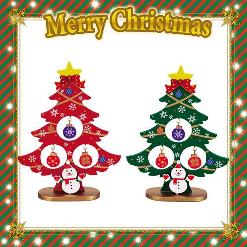 2016年スノーマンがかわいいオーナメント付のミニクリスマスツリーです。